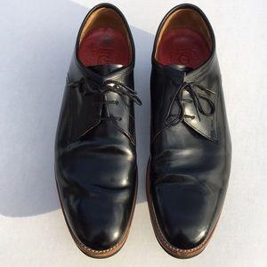 GRENSON Lennie leather derby shoes